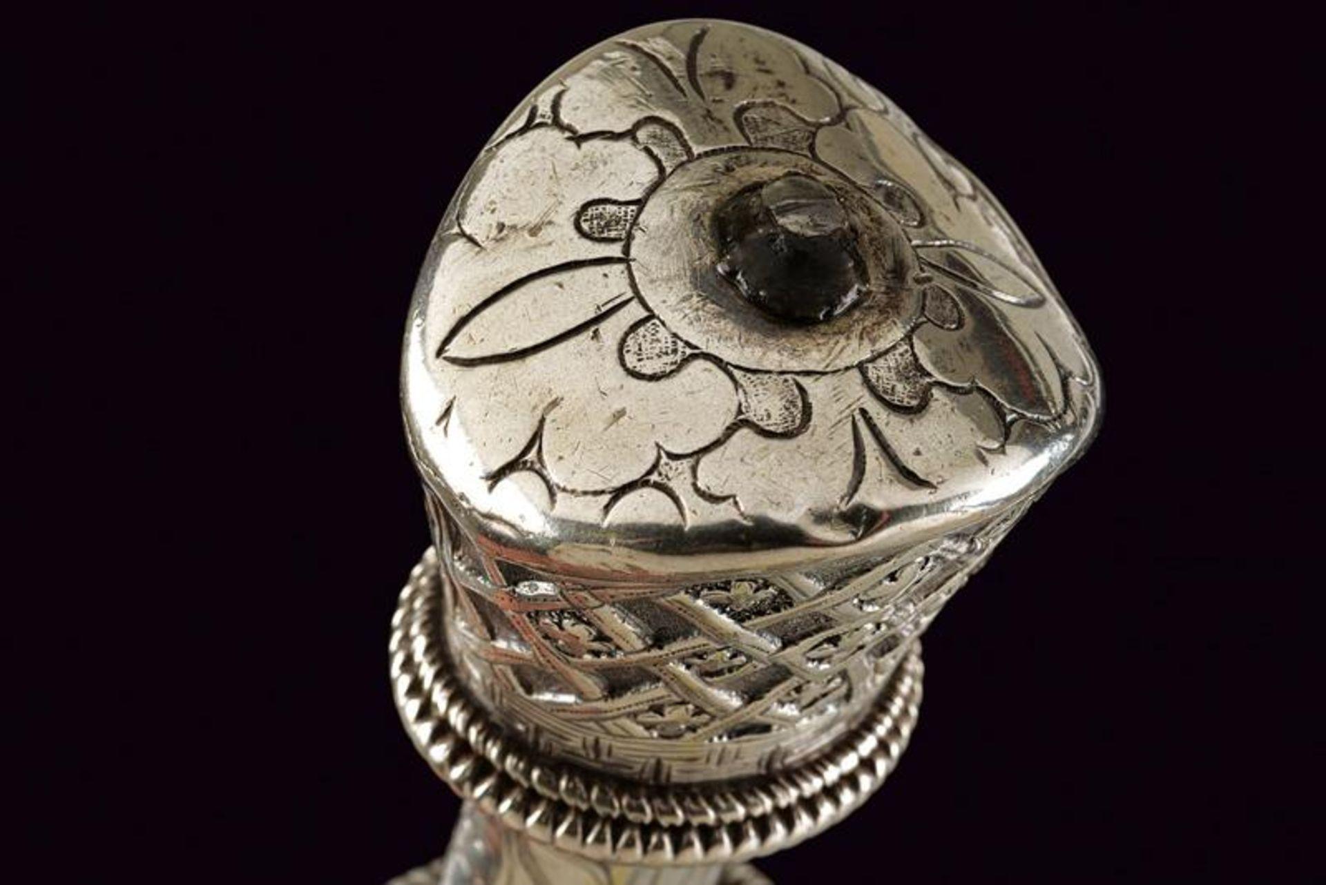 A beautiful silver mounted knife - Bild 2 aus 6