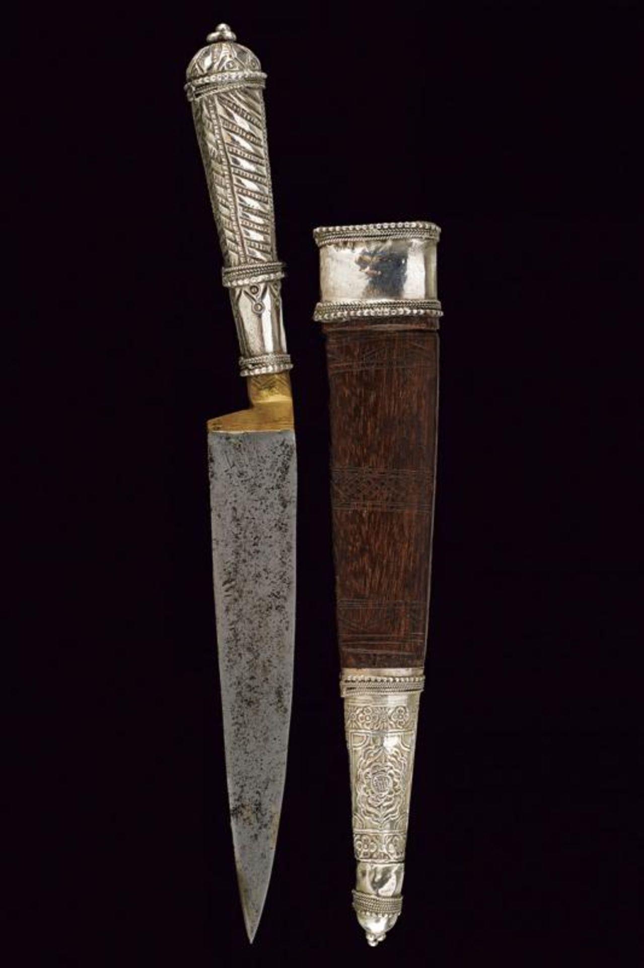 A silver mounted knife - Bild 5 aus 5