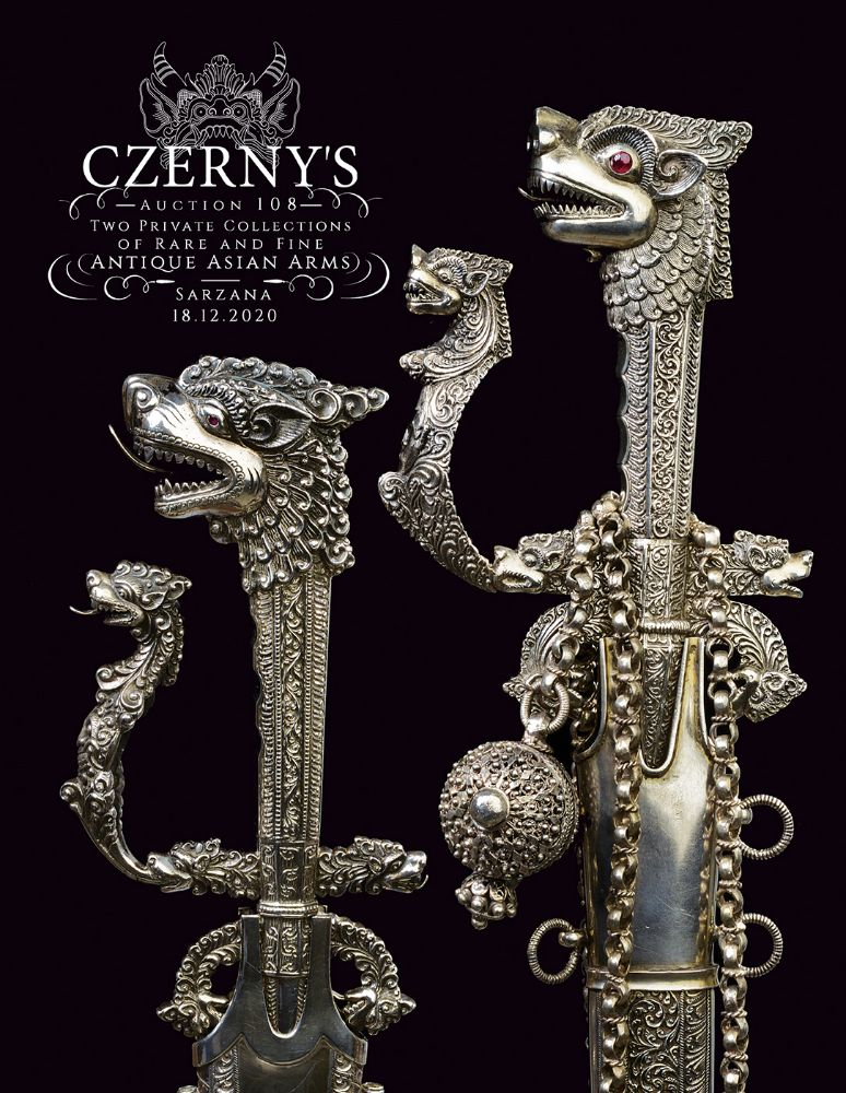 Two Private Collections of Rare & Fine Asian Antique Arms