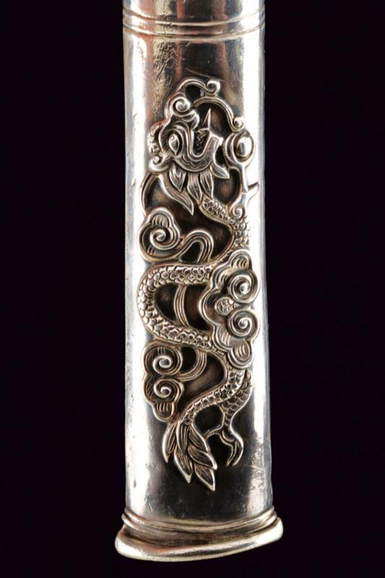 A silver mounted knife - Bild 3 aus 8