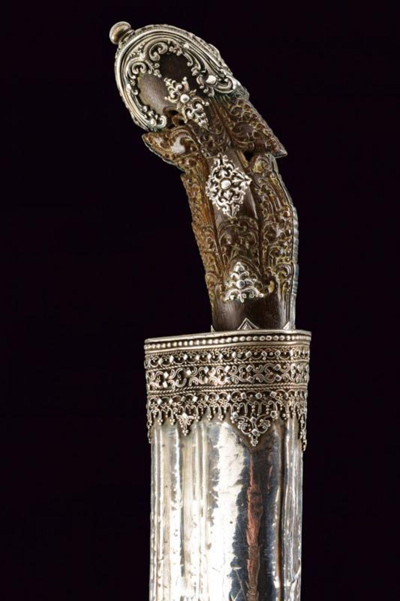 A beautiful silver mounted Piha-kaetta - Bild 4 aus 8