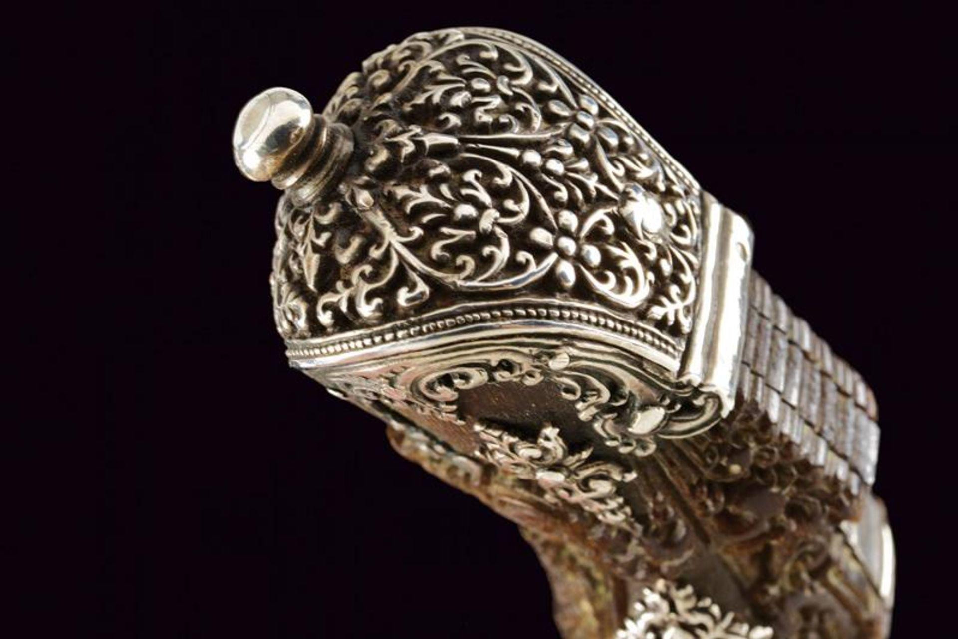 A beautiful silver mounted Piha-kaetta - Bild 3 aus 8