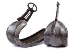 A pair of abumi (stirrups)