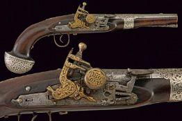 A very scarce flintlock pistol