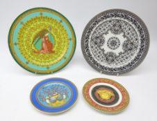 Four Rosenthal Versace plates: Studio Line ltd. ed.