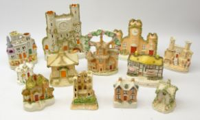 19th century and later Staffordshire buildings comprising Scarborough Castle, Shakespeare House,