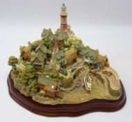 Large Lilliput Lane limited edition model 'Out of the Storm' L2064 no.
