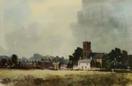 English Village scene,