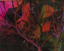 Owen Yarwood (British 20th century): Woodland,
