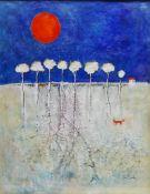 Ann Lamb (British 1955-): 'Orange Glow',