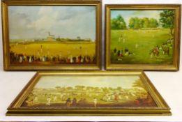 Cricketing Scenes,