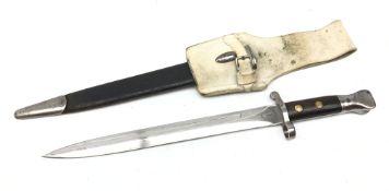 British M1888 Mk I Type II Lee Metford bayonet, 30.