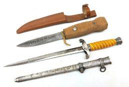 WW2 German Army Officer's dagger, 25.
