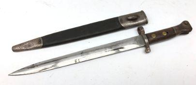 19th century British Mole bayonet, 30.
