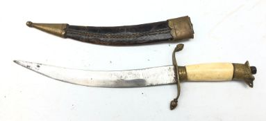 Indian made dagger or Naval type dirk,