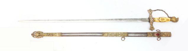 American Knights Templar Society sword by The Pettibone Bros.