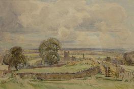Cuthbert Crossley (British 1883 - ?): 'Richmond Yorkshire',