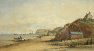 John Francis Branegan (British 1843-1909): Whitby 'from Upgang',