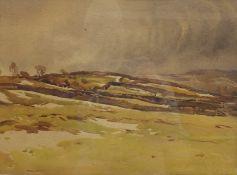Fred Lawson (British 1888-1968): Winter Landscape,