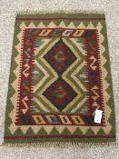 Maimana Kilim rug/mat, 80cm x 60cm