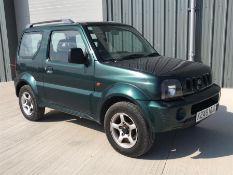 2001 Suzuki Jimny 1.3 JLX 3dr. Petrol, Manual, 4 Wheel Drive. Only 66571 miles, 4 seats. From a loca