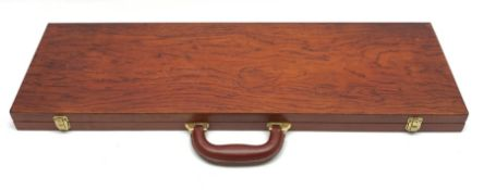 Walnut carrying case for twelve bows L79cm
