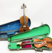 John G. Murdoch 'The Maidstone' violin with 35.5cm two-piece maple back and ribs and spruce top, be