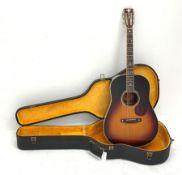 Crafter TR060 VLS-V Southern Jumbo acoustic guitar, violet sunburst gloss, rosewood back and sides,