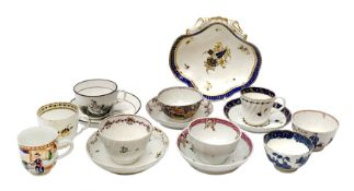 Collection of 18th century and 19th century porcelain, to including examples by Newhall and Worceste
