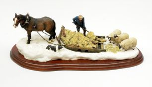 A Border Fine Arts figure group, The James Herriot Studio Collection, Emergency Rations, model no A2