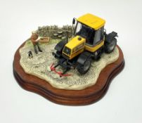 A limited edition Border Fine Arts figure group, Frontiers of Farming, model no B0273 by Kirsty Arms