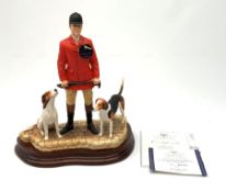A limited edition Border Fine Arts figure group, End of an Era?, model no B0881 by David Mayer, 456/
