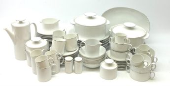 German porcelain dinner service by Thomas, six place settings