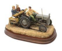 A limited edition Border Fine Arts figure group, Main Crop, model no B1162 by Ray Ayres, 550/950, on