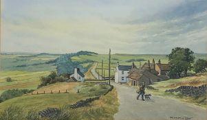 William (Bill) Kirby (Northern British 1934-2019): The Barrel at Bretton, watercolour signed 31cm x