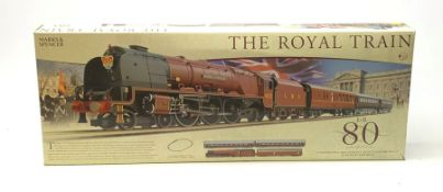 Hornby '00' gauge - limited edition Marks & Spencer The Royal Train QEII 80th Birthday Commemorative