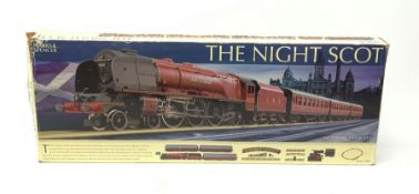 Hornby '00' gauge - Marks & Spencer The Night Scot set with Duchess Class 4-6-0 locomotive 'Duchess