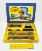 Hornby Dublo - EDG18 electric three-rail Goods Train Set with 4MT Standard 2-6-4 tank locomotive No.
