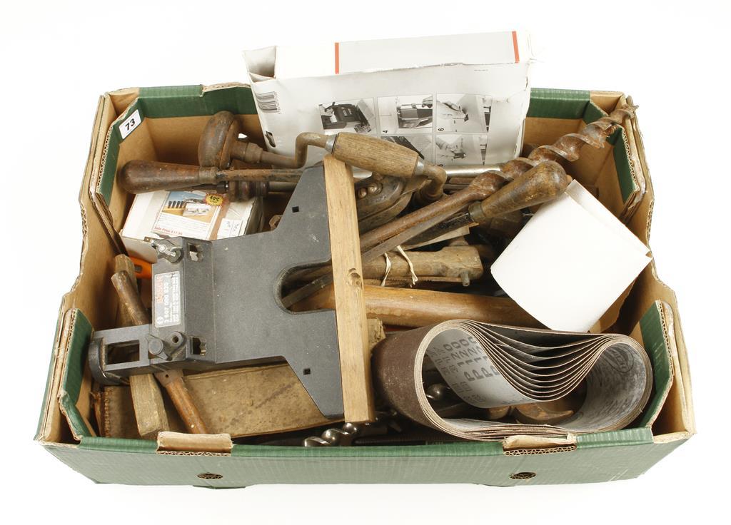 Lot 73 - A box of tools