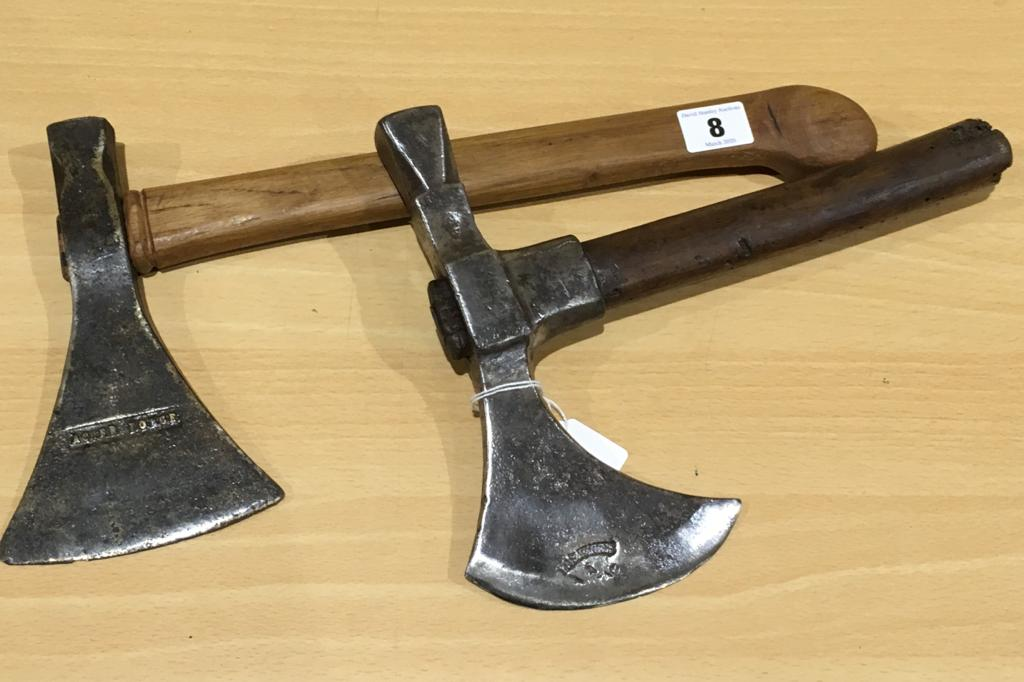 Lot 8 - Two small hand axes G++