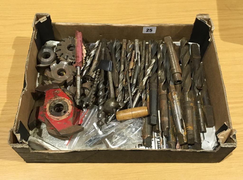Lot 25 - A quantity of engineers drills etc G