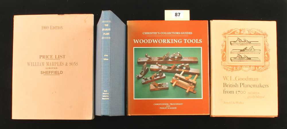 Lot 87 - Sellens: The Stanley Plane. Goodman: BPM2 and two other books G+