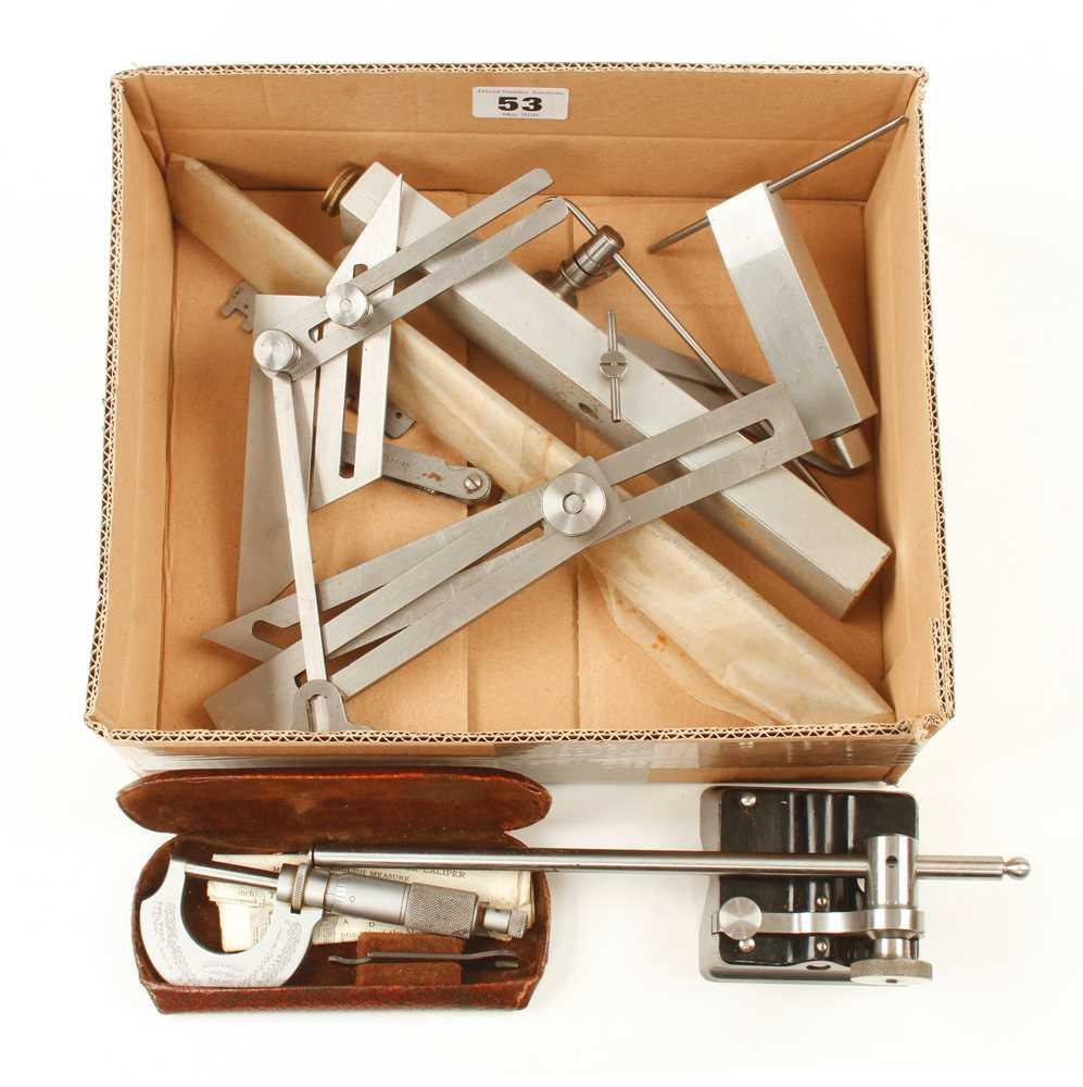 Lot 53 - Ten engineer's tools G++