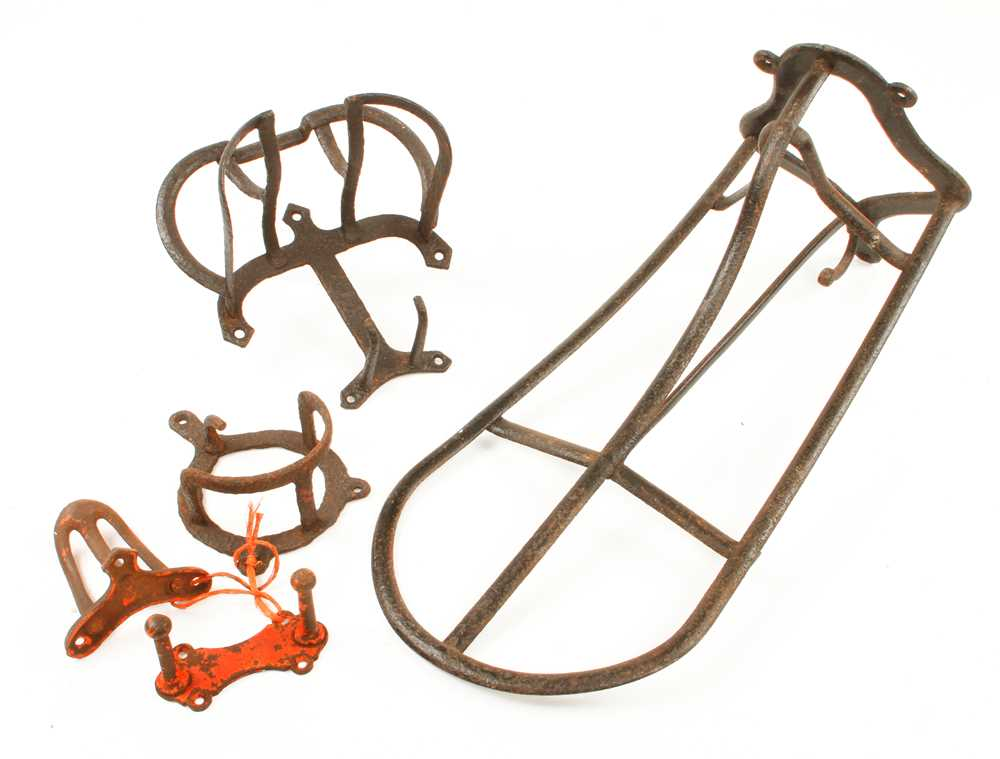 Five harness and saddle brackets G