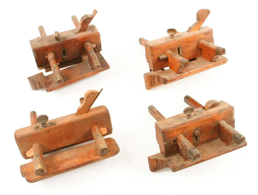 Lot 63 - Three ploughs and a fillester G
