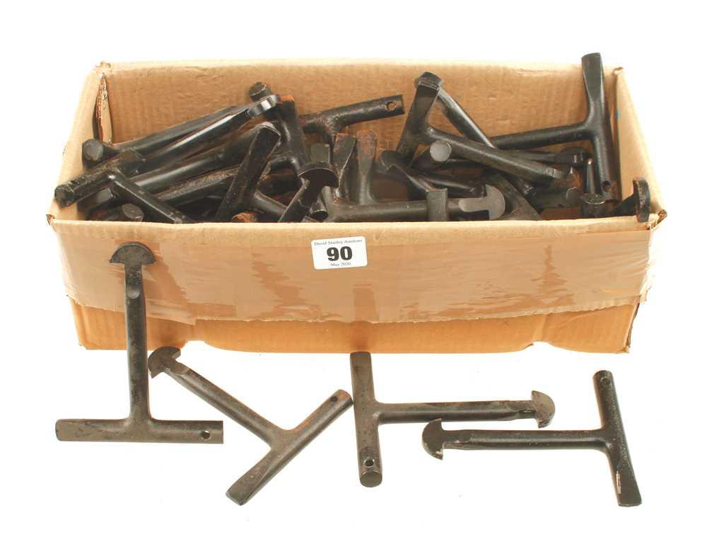 Lot 90 - 25 pairs of manhole cover keys F