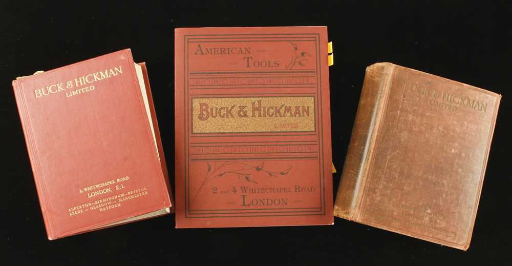 Lot 29 - Buck & Hickman; 1935 and 1964 cats. and a 1902 reprint G