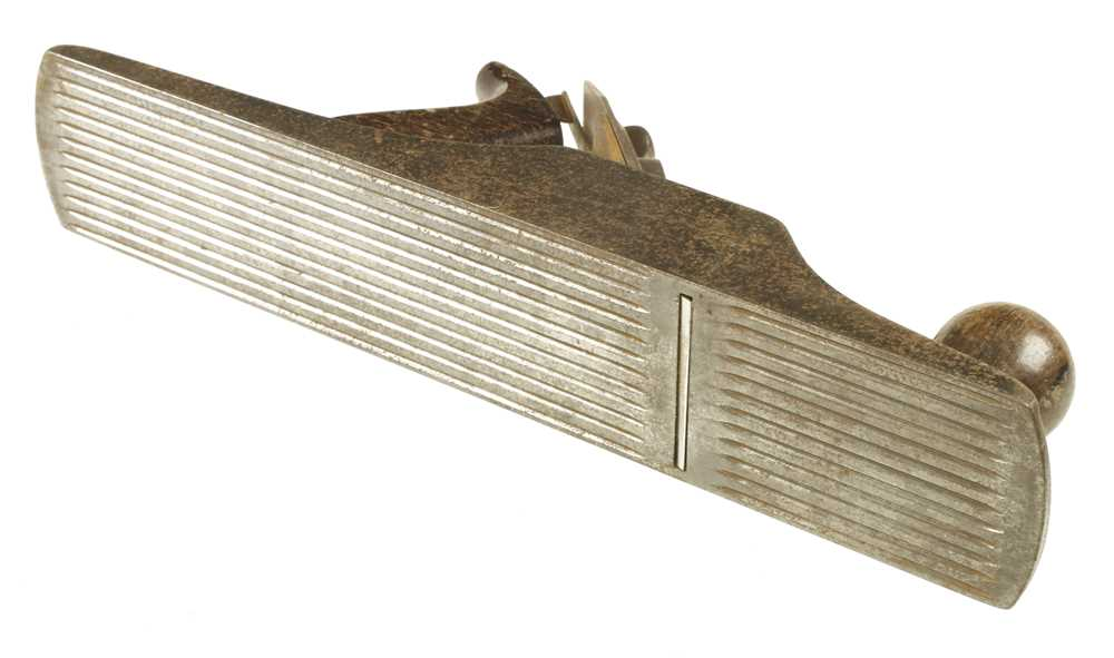 Lot 2 - A USA STANLEY Bedrock No 605 1/2C with flat sides and corrugated sole, some light pitting G