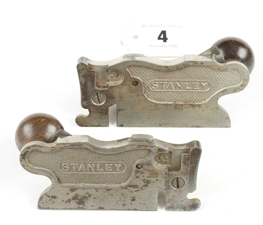 A pair of USA STANLEY No 98 and 99 rebate planes G+