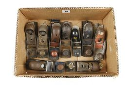 Nine metal block planes G